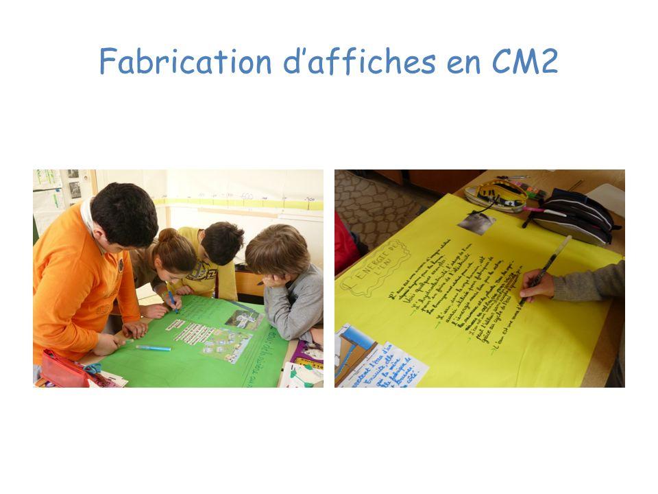 Fabrication daffiches en CM2