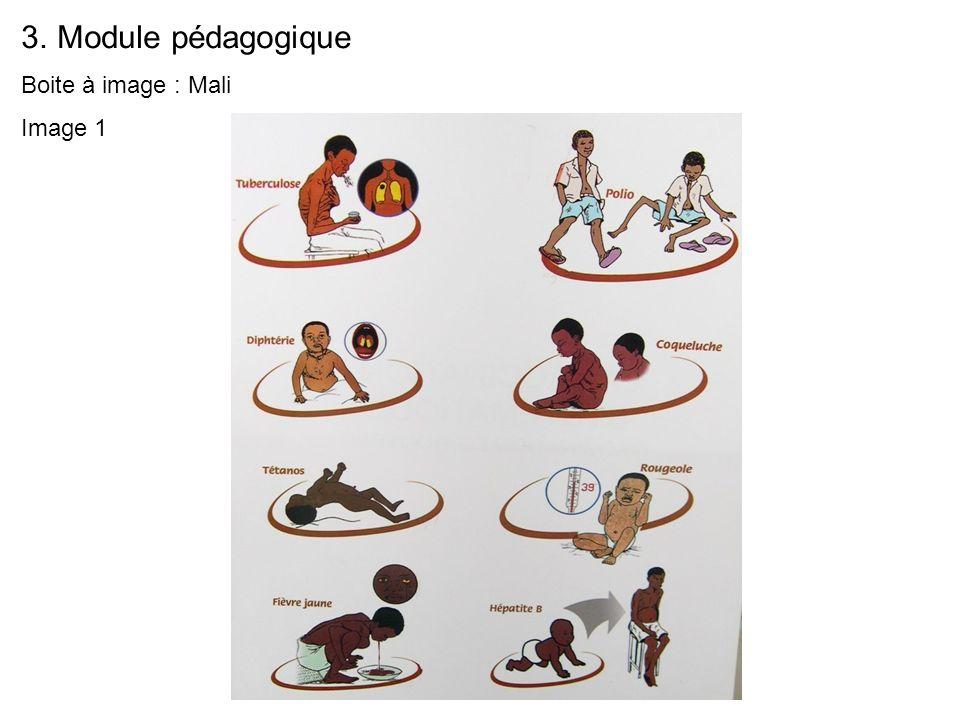 3.Module pédagogique Boite à image : Mali Image 1