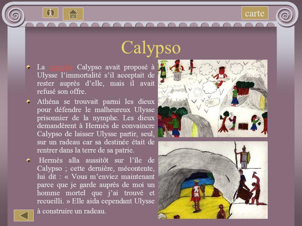 Lîle du dieu Hélios Après Charybde et Scylla, Ulysse et son équipage arrivent sur l'île d'Hélios, le dieu- soleil. Il a de superbes boeufs et des trou