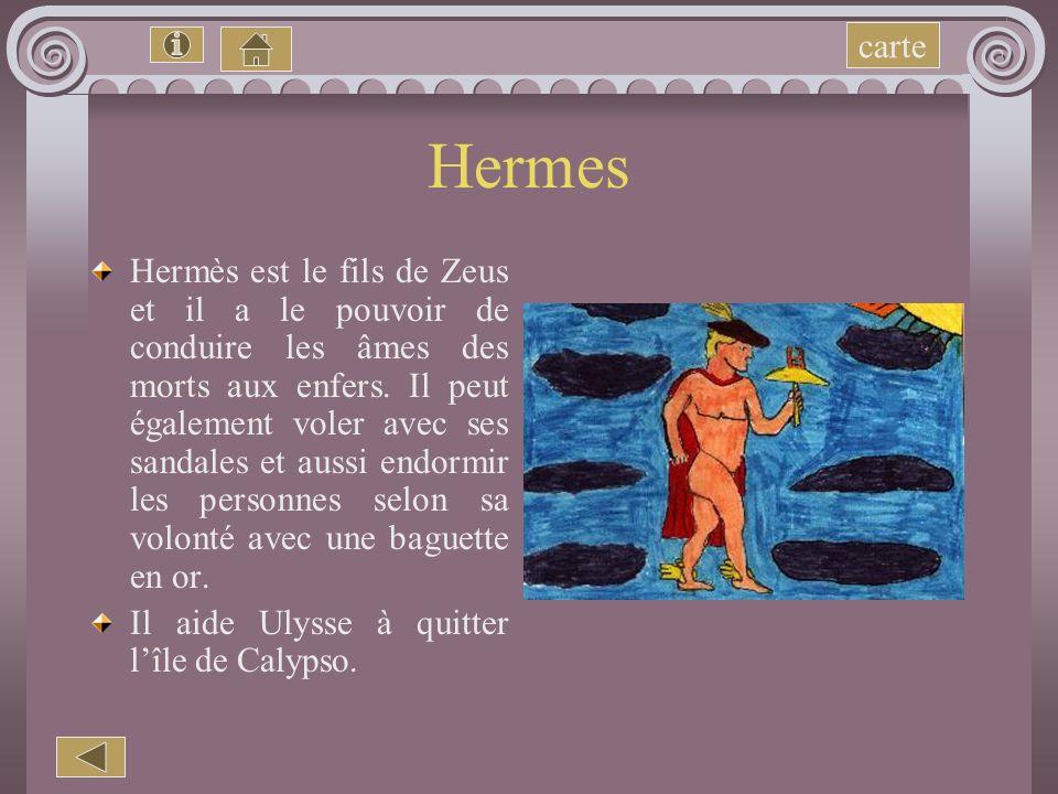 Hadès Il est le frère de Zeus et de Poséidon. Il reçut en partage le monde souterrain sur lequel il régnait avec son épouse Perséphone. Hadès permetta