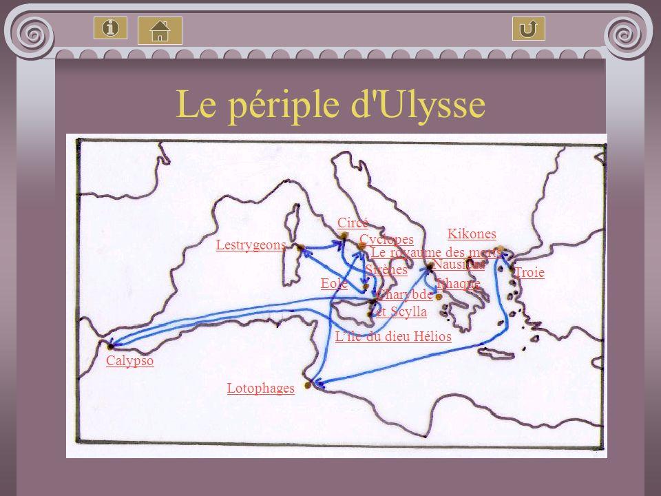 Sommaire Présentation générale L'auteur Ulysse, un modèle pour les Grecs ? La famille d'Ulysse Les Dieux cités dans l'histoire Zeus Athéna Hermès Posé