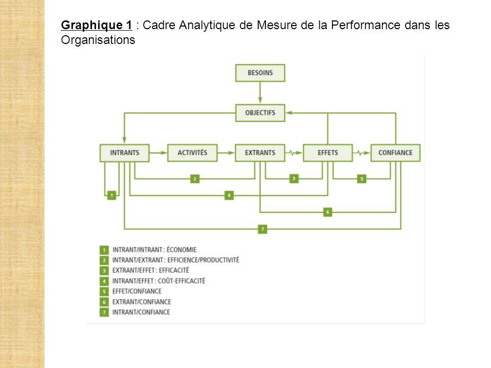 Graphique 1 : Cadre Analytique de Mesure de la Performance dans les Organisations