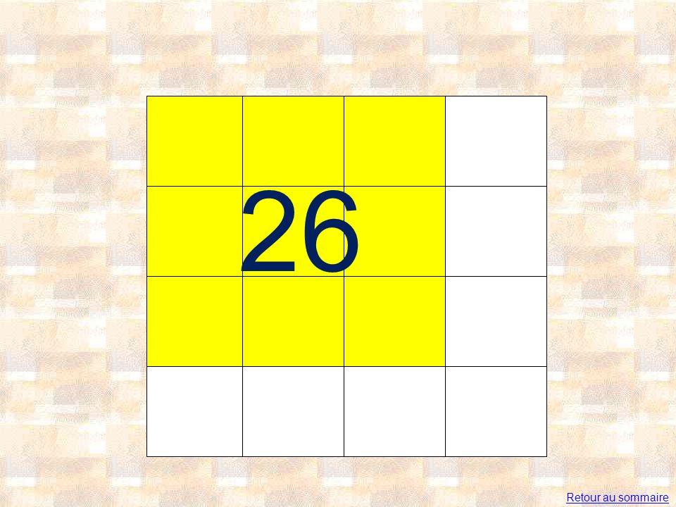 26 Retour au sommaire