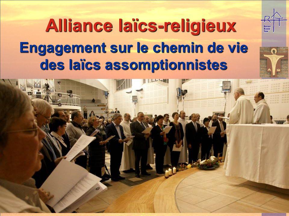 Engagement sur le chemin de vie des laïcs assomptionnistes