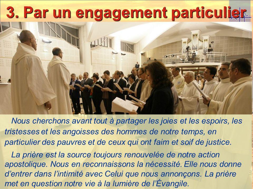 Proclamation de lengagement Ensemble, en approfondissant la spiritualité des Augustins de lAssomption, nous voulons faire grandir notre vocation bapti
