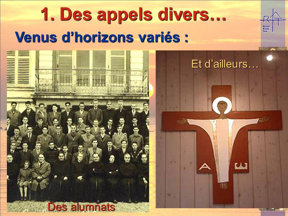 De la péniche De lHospitalité Notre-Dame de Salut De Bayard De lUniversité Européenne Assomptionniste Venus dhorizons variés : 1. Des appels divers…