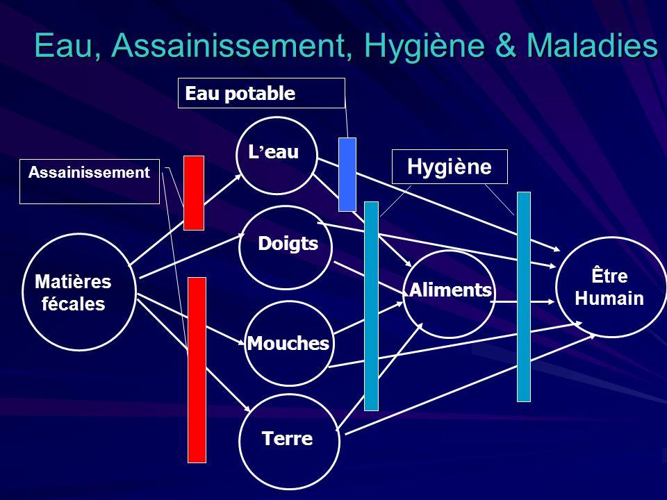 PRESENTATION 1.TRANSMISSIONS NON HYDRIQUES DES MALADIES DIARRHEIQUES ENDEMIQUES 2.