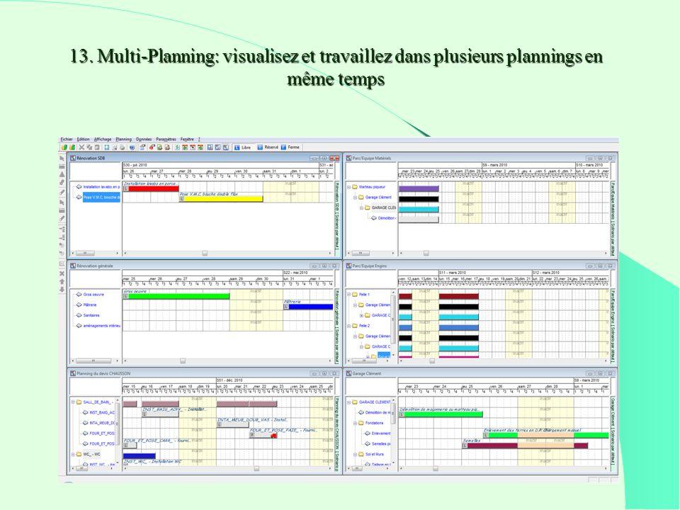 13. Multi-Planning: visualisez et travaillez dans plusieurs plannings en même temps
