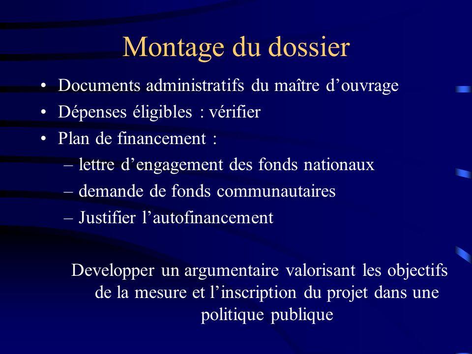 Vie dun dossier au Docup Dépôt du dossier : Service guichet A.R.