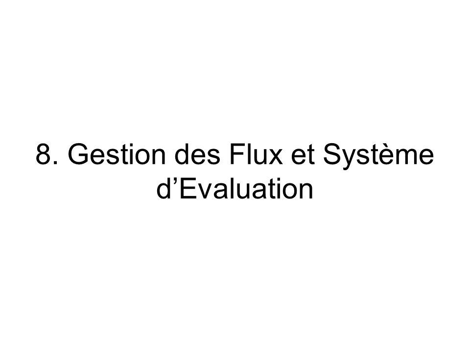 8. Gestion des Flux et Système dEvaluation