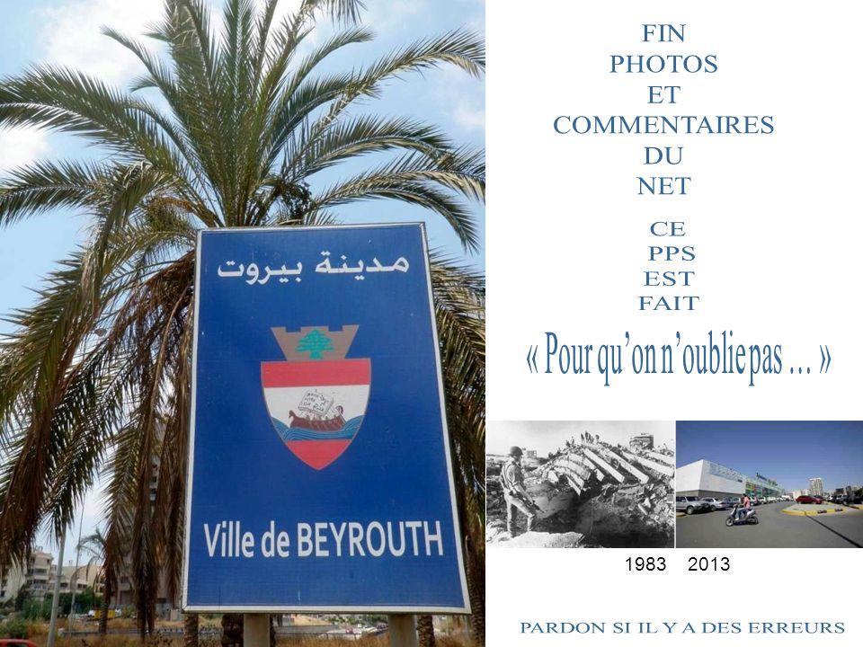 Lundi 14 octobre 2013, la Force Commander Reserve sest rendue à Beyrouth pour participer à la commémoration de lattentat du Drakkar en présence de Kad