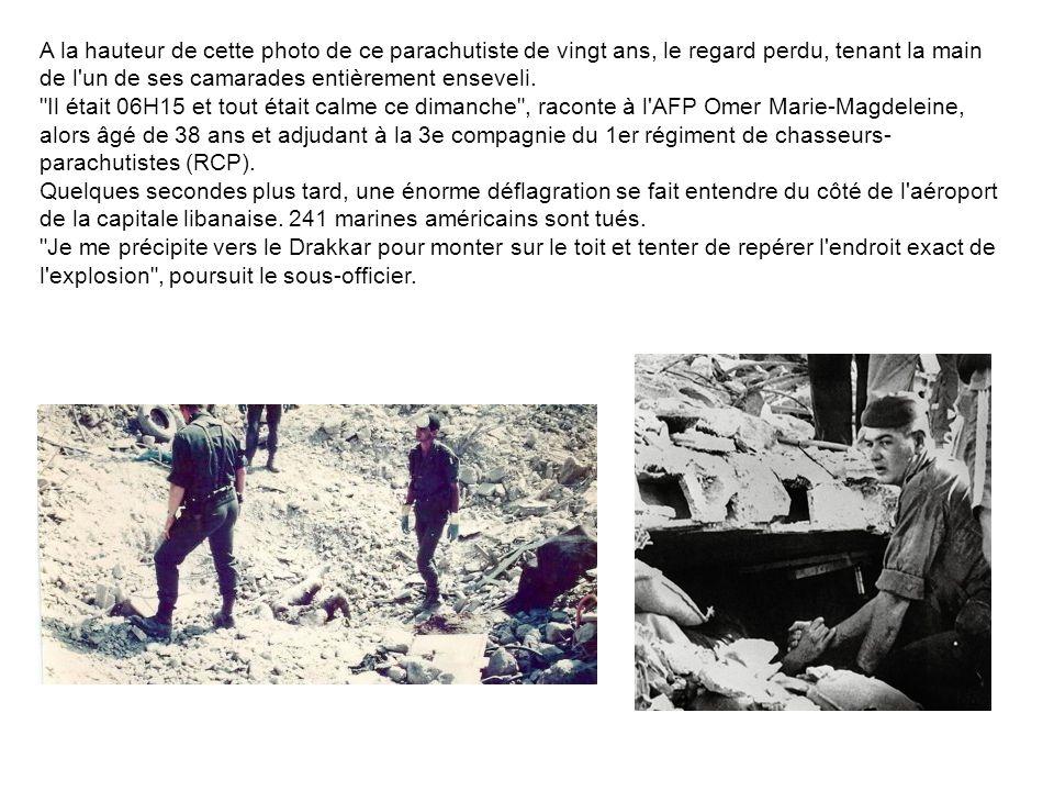 Cinquante-cinq d'entre eux appartenaient au 1er régiment de chasseurs parachutistes (RCP). Ce bilan meurtrier, le plus lourd en pertes humaines subies