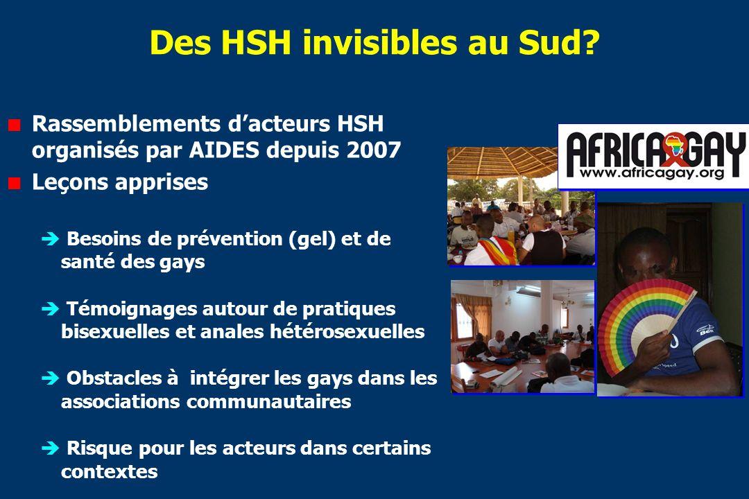 Des HSH invisibles au Sud.
