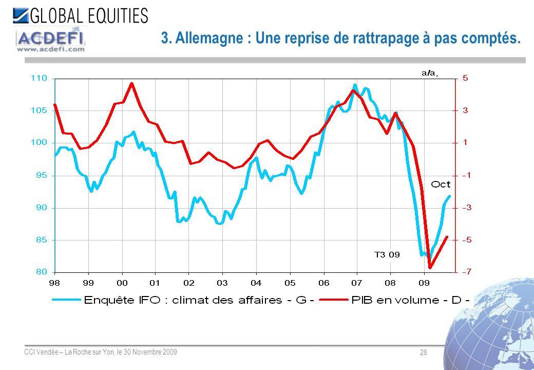 28 CCI Vendée – La Roche sur Yon, le 30 Novembre 2009 3. Allemagne : Une reprise de rattrapage à pas comptés.