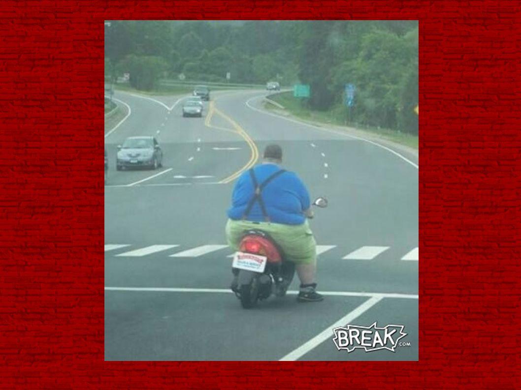 Et puis il paraît aussi que la taille de la moto est proportionnelle à la taille du sexe...