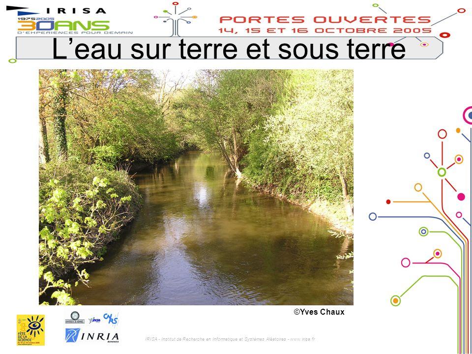 IRISA - Institut de Recherche en Informatique et Systèmes Aléatoires - www.irisa.fr Leau sur terre et sous terre ©Yves Chaux