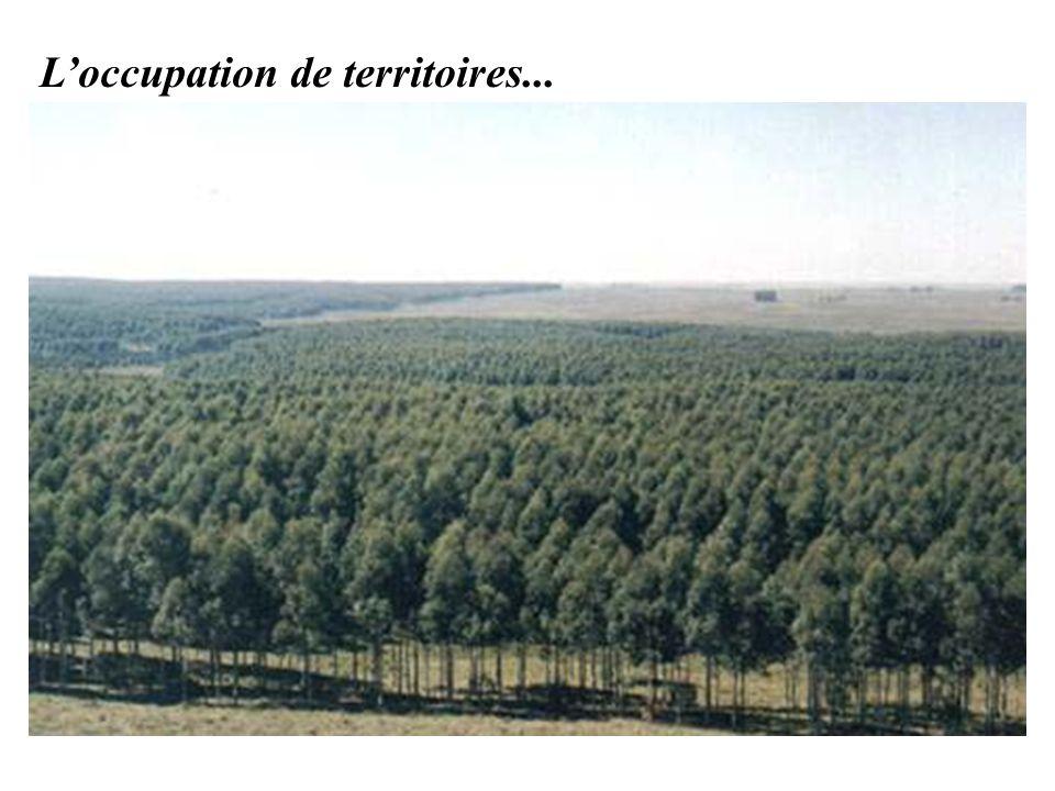 Loccupation de territoires...