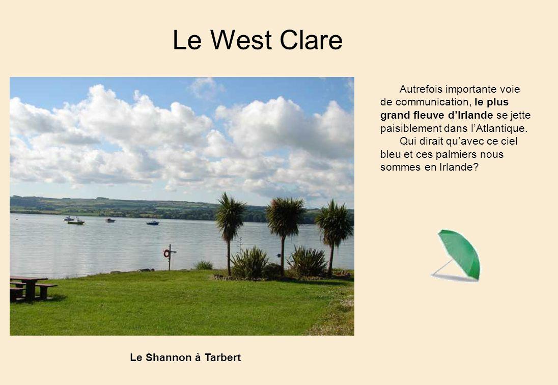 Le West Clare Autrefois importante voie de communication, le plus grand fleuve dIrlande se jette paisiblement dans lAtlantique.