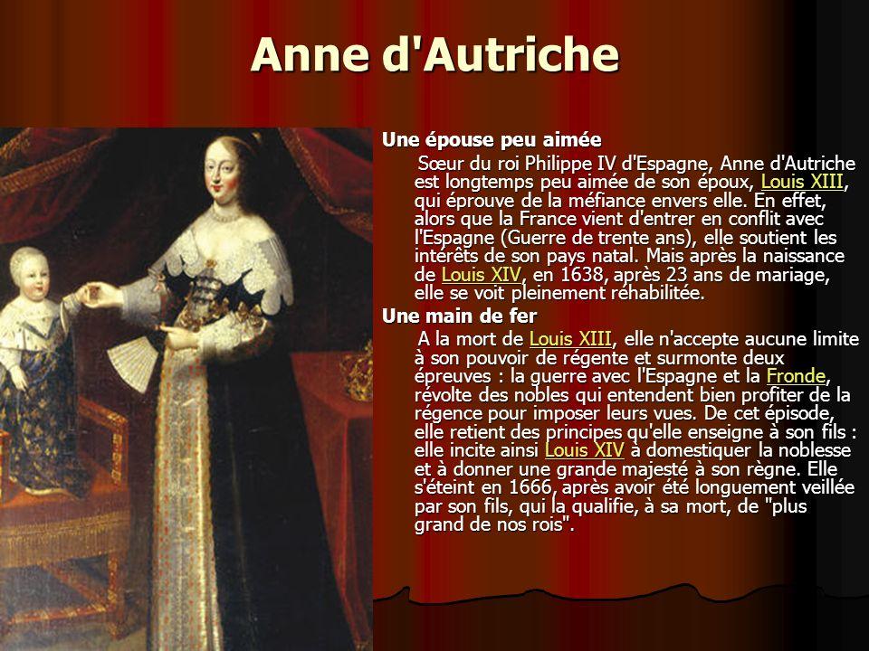 Marie de Médicis Une régente autoritaire Mariée sans amour à Henri IV, elle devient régente au nom de Louis XIII, après la mort de son mari, assassiné