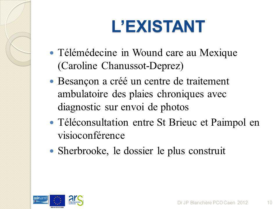 LEXISTANT Télémédecine in Wound care au Mexique (Caroline Chanussot-Deprez) Besançon a créé un centre de traitement ambulatoire des plaies chroniques