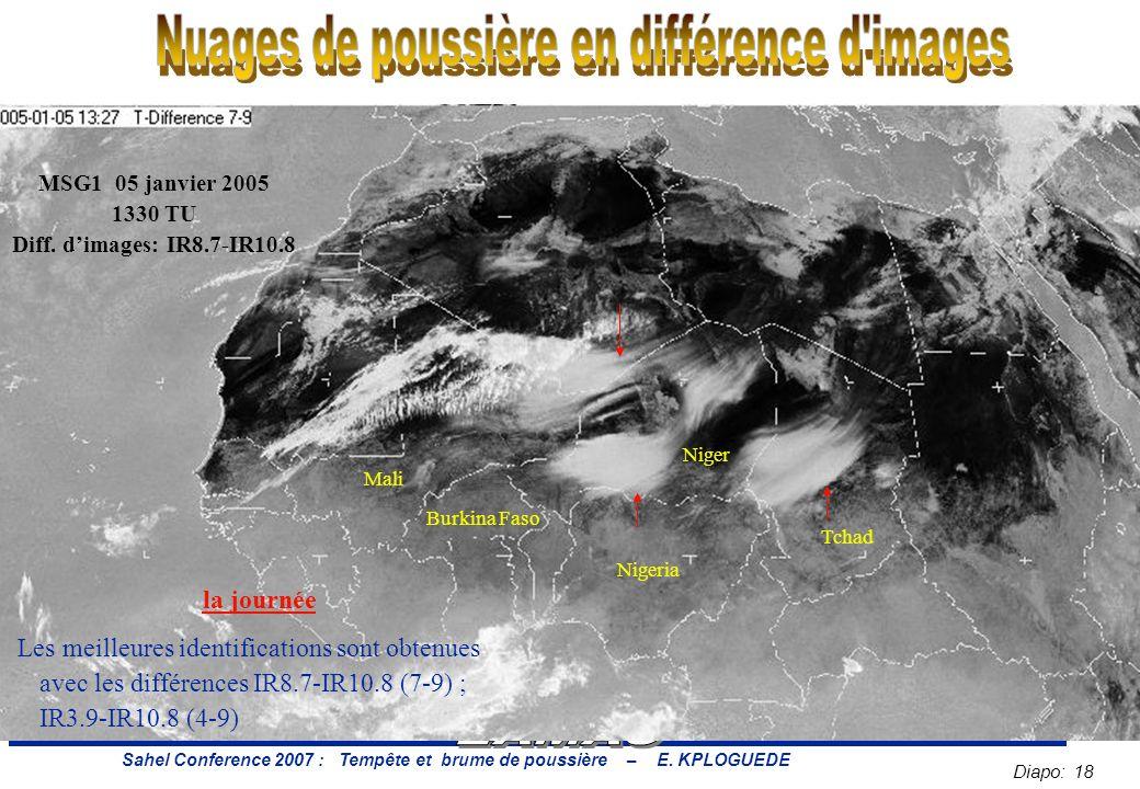 Diapo: 18 Sahel Conference 2007 : Tempête et brume de poussière – E.