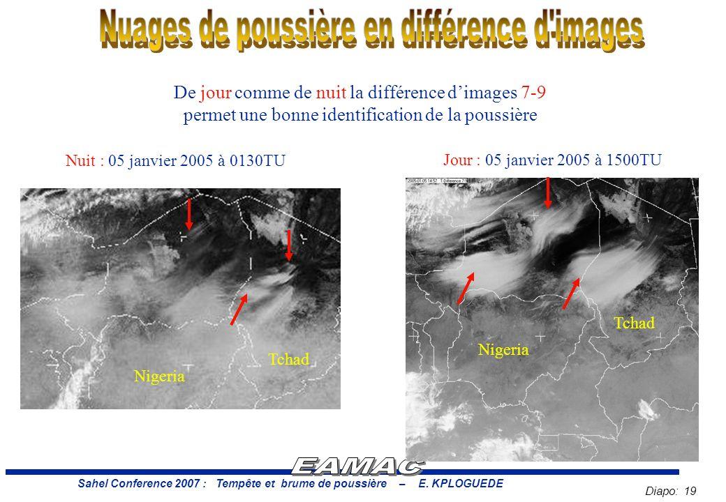 Diapo: 19 Sahel Conference 2007 : Tempête et brume de poussière – E.