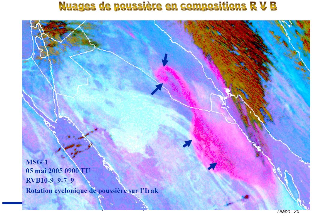 Diapo: 26 Sahel Conference 2007 : Tempête et brume de poussière – E.