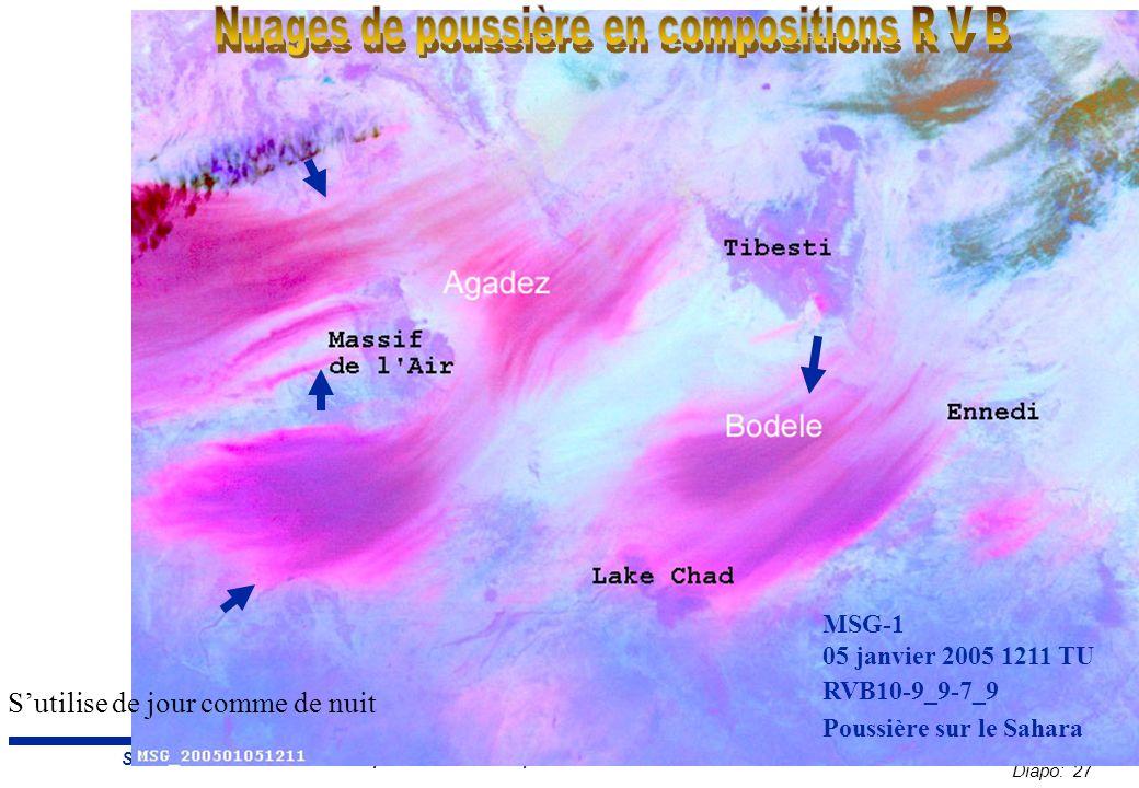 Diapo: 27 Sahel Conference 2007 : Tempête et brume de poussière – E.
