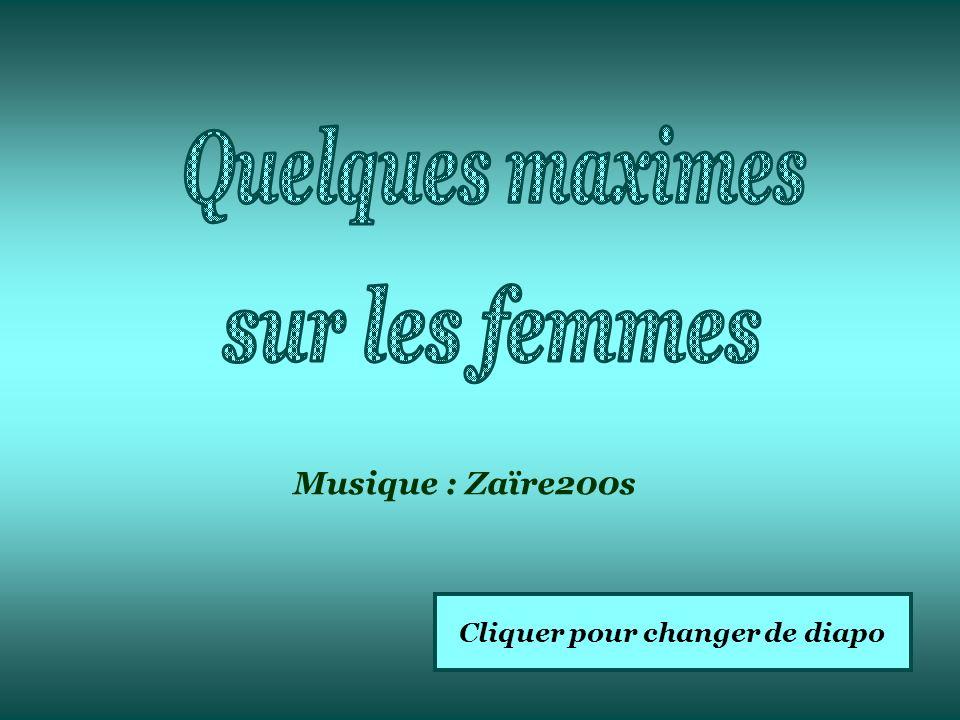 Cliquer pour changer de diapo Musique : Zaïre200s