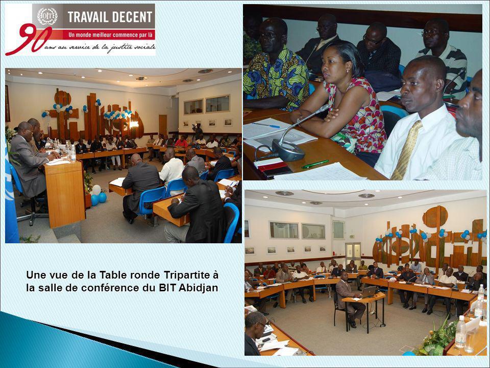 13 Une vue de la Table ronde Tripartite à la salle de conférence du BIT Abidjan