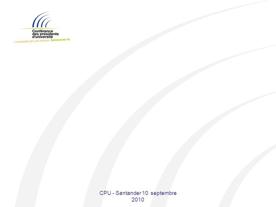 CPU - Santander 10 septembre 2010