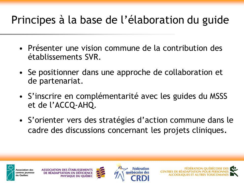 3- La contribution des établissements SVR au projet clinique des instances locales Le défi lié à la vocation régionale Composer avec plusieurs CSSS et RLS, donc avec plusieurs projets cliniques… tout en assurant le maintien dune mission régionale.