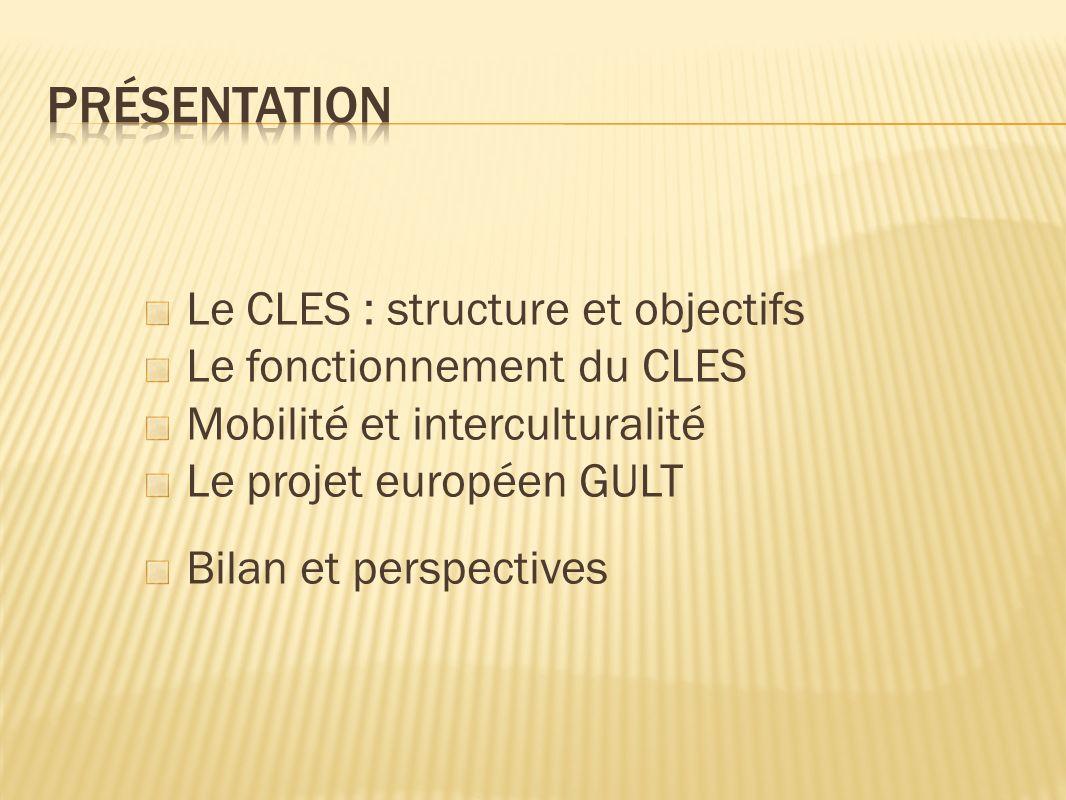 Une formation des concepteurs, examinateurs, responsables de centres CLES Des grilles de correction en conformité avec le CECR Un suivi annuel des sessions, du nombre de candidats CLES/niveaux /filières/langues.