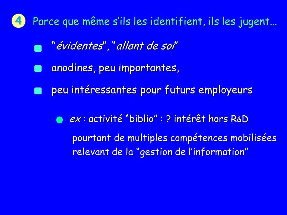 ex : activité biblio : .