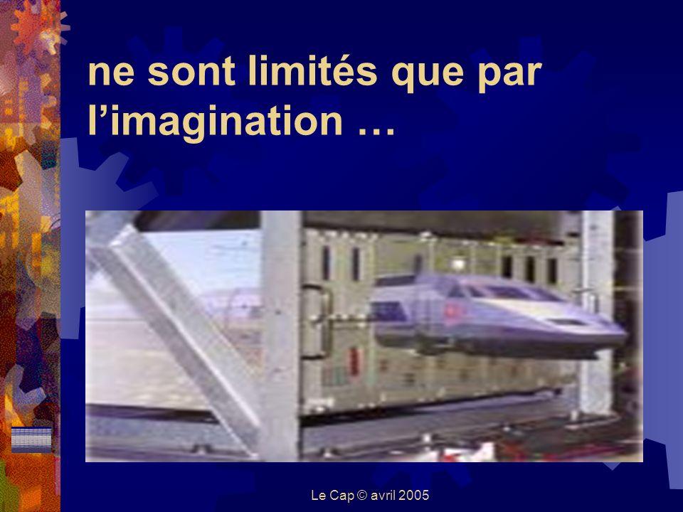 Le Cap © avril 2005 ne sont limités que par limagination …
