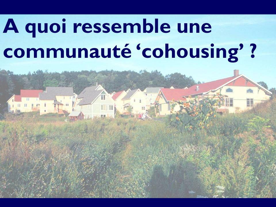 A quoi ressemble une communauté cohousing