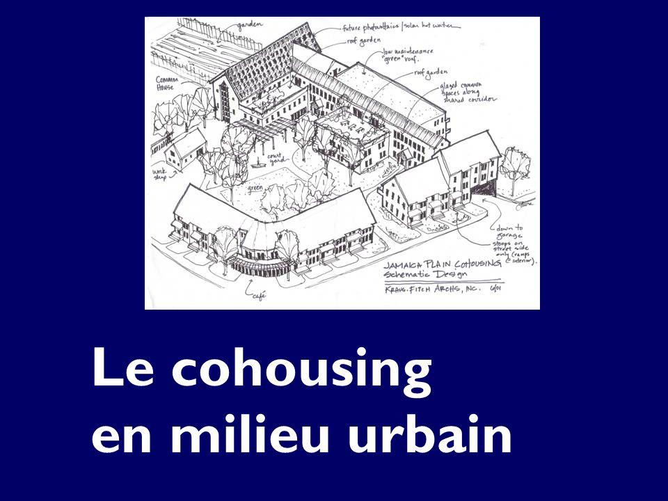 Le cohousing en milieu urbain