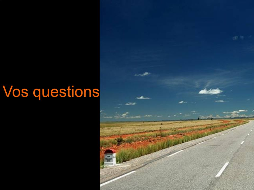 23 Vos questions Vos questions