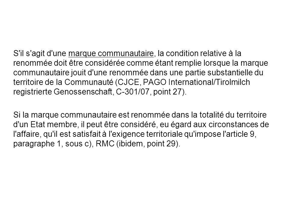 CJCE, 23 avril 2009, Chrisian Dior Couture/Copad, C-59/08 Lorsque la mise dans le commerce de produits de prestige par le licencié en violation dune clause du contrat de licence doit néanmoins être considérée comme faite avec le consentement du titulaire de la marque, ce dernier ne peut invoquer une telle clause pour sopposer à une revente de ces produits sur le fondement de larticle 7, paragraphe 2, de la directive 89/104, telle que modifiée par laccord sur lEspace économique européen, que dans le cas où il est établi, compte tenu des circonstances propres à lespèce, quune telle revente porte une atteinte à la renommée de la marque.