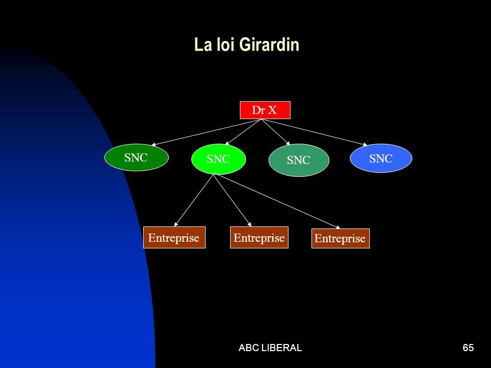 ABC LIBERAL65 La loi Girardin Dr X SNC Entreprise