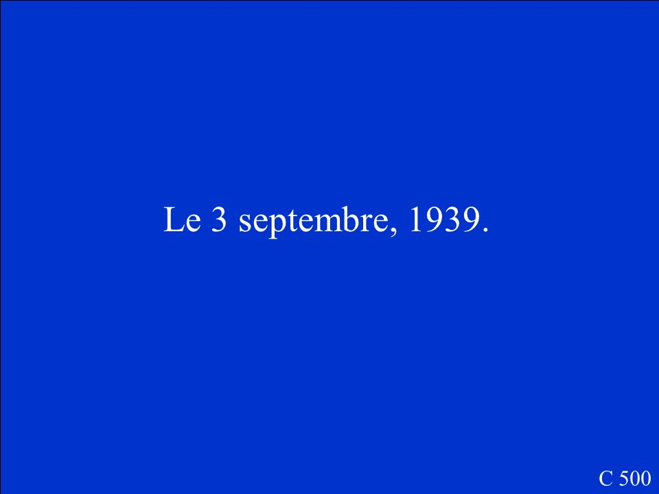 Quelle est la date de linvasion des Pays Bas, du Luxembourg, de la Belgique et de la France par les Nazis .