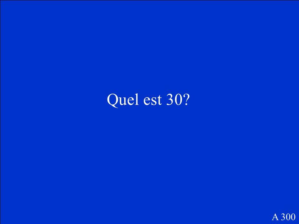 Cest le nom pour le corps deau entre lAngleterre et lEurope continental. F 300