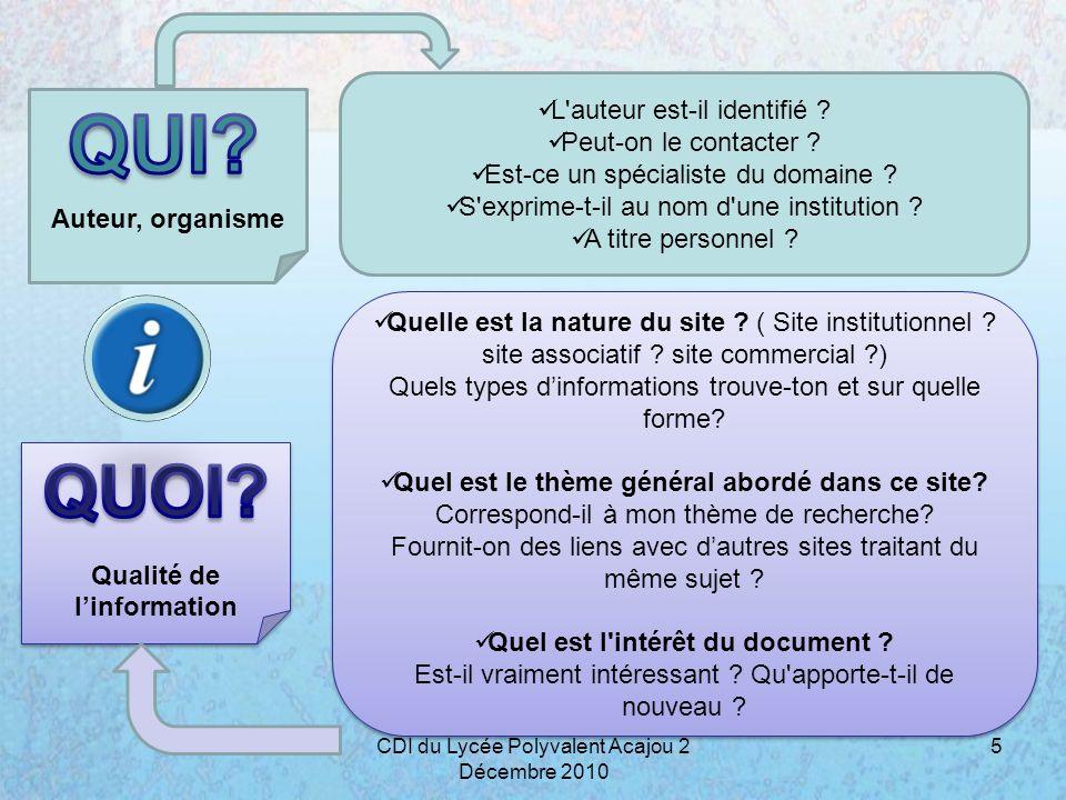 Origine Date D où provient l information .site français ?européen .