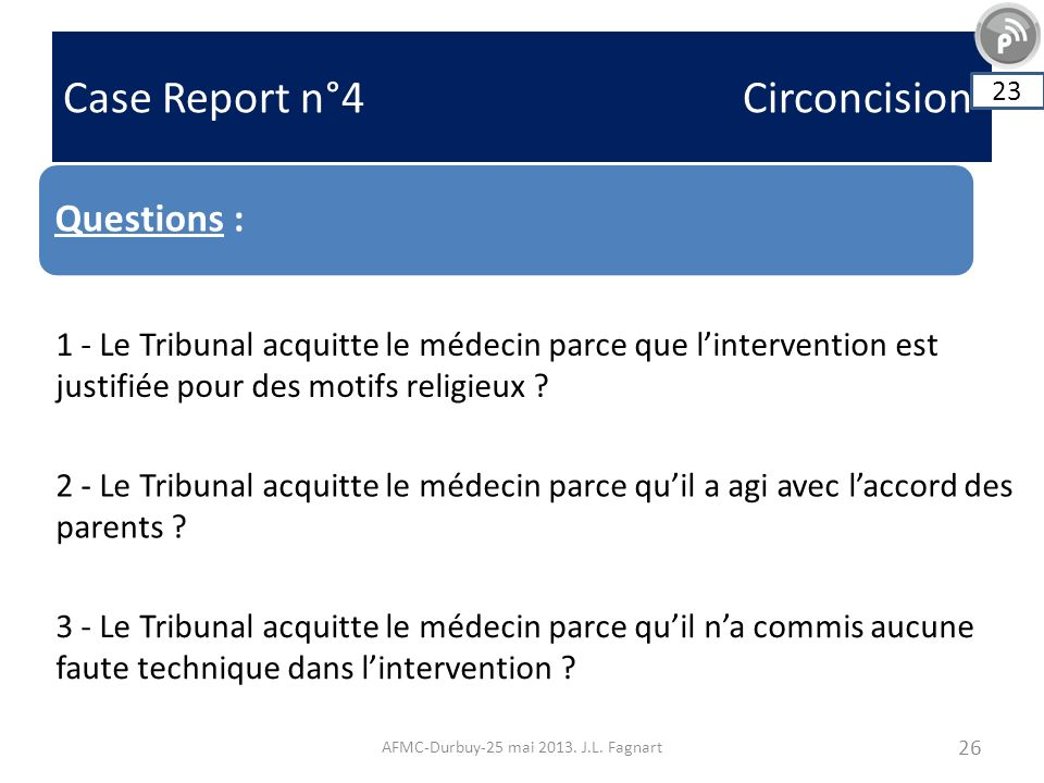 Case Report n°4 Circoncision AFMC-Durbuy-25 mai 2013.