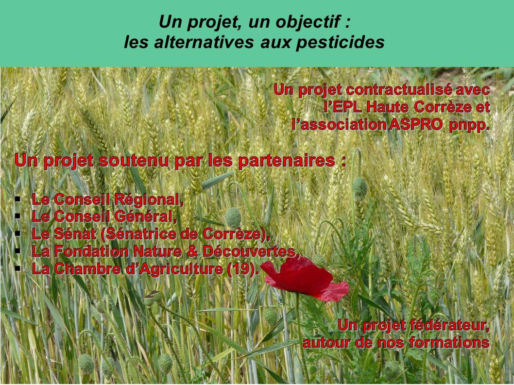 Notre partenaire: ASPRO pnpp Fédérer la recherche, la capitalisation et la mutualisation dinformations sur les produits naturels en tant qualternatives aux pratiques conventionnelles.