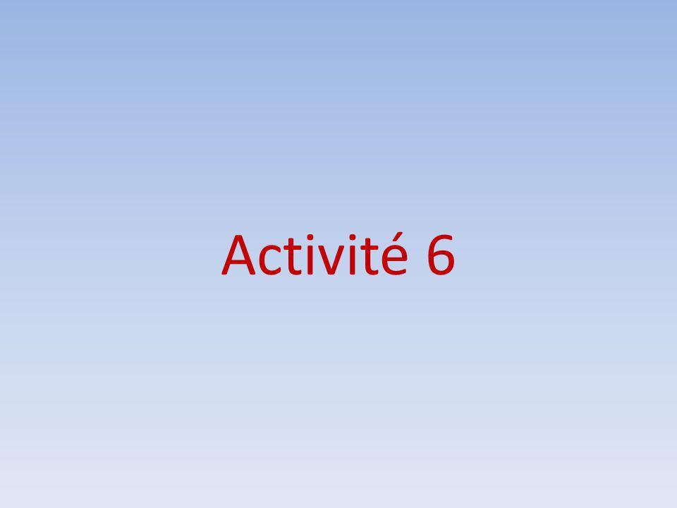 Activité 6