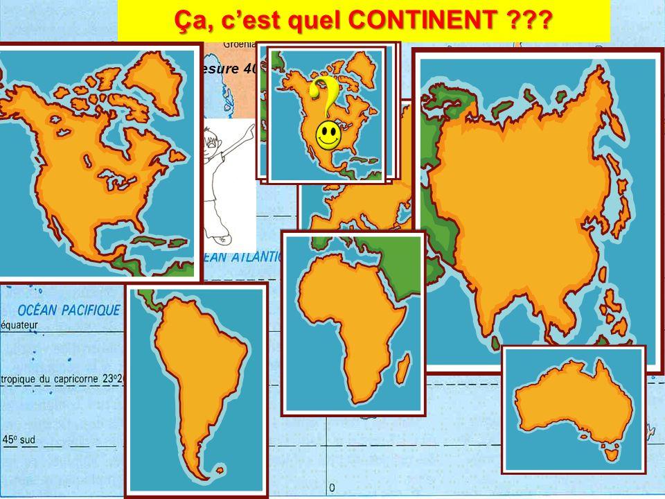 SEPT Pour certains il y a SEPT continents LAmérique du Nord LAmérique du SUD LEurope Africa LAustralie LAntarctique LAsie