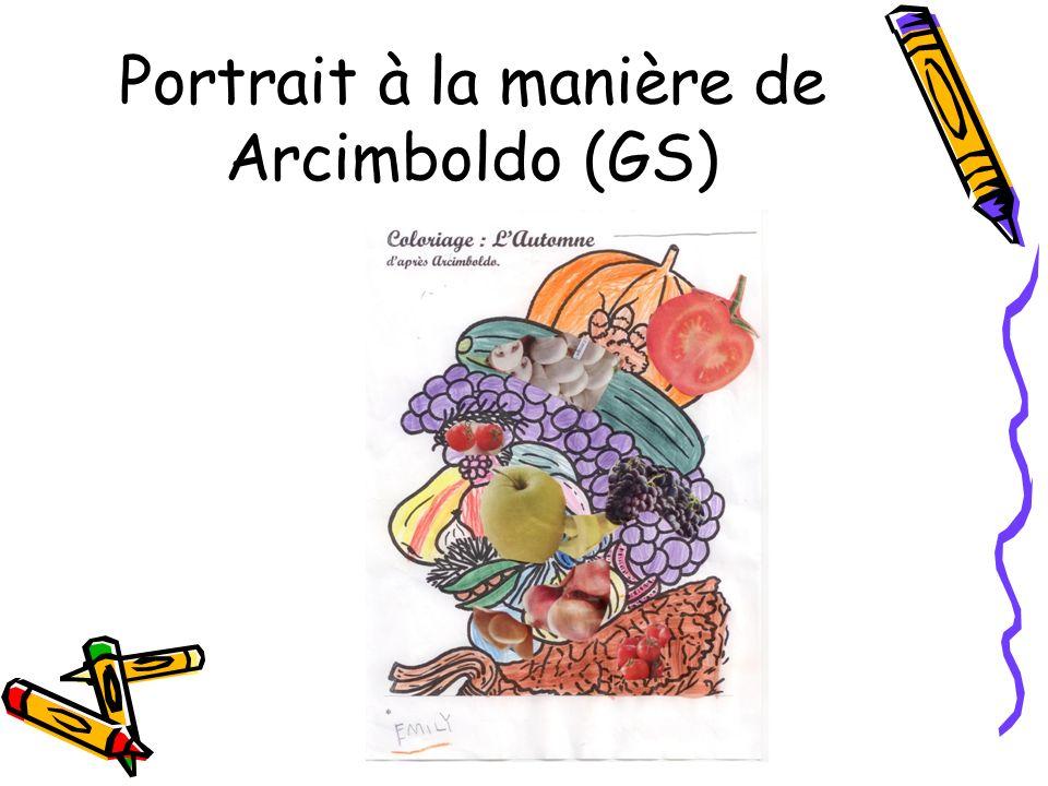 Portrait à la manière de Arcimboldo (GS)