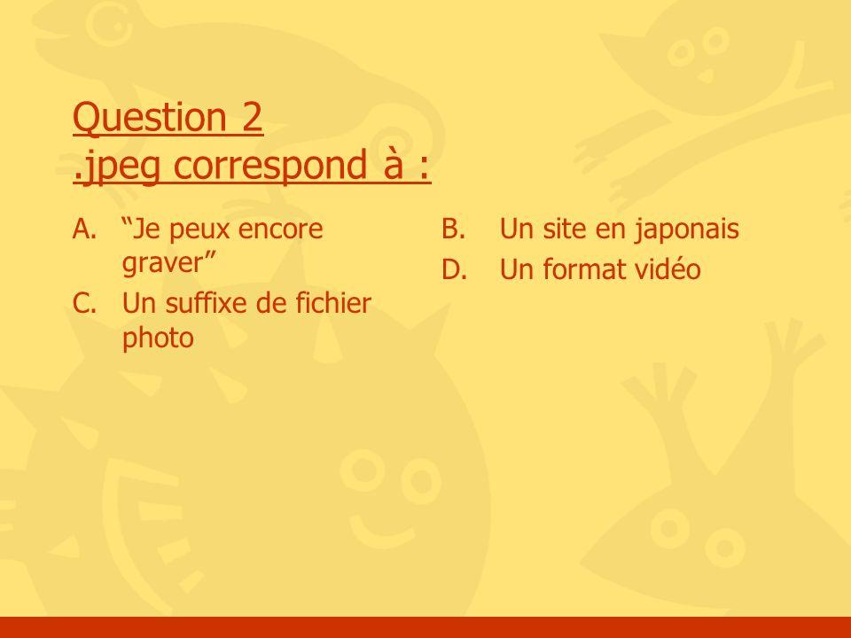 Question 3 Lastérix dans une inscription à un site signifie : A.