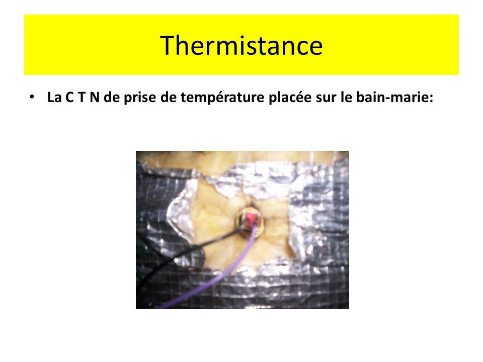 Consigne de température de leau primaire dans le bain-marie Il y a seulement 2 consignes de température de leau primaire dans le bain-marie: Mode ECO:
